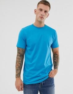 Голубая футболка Soul Star-Синий