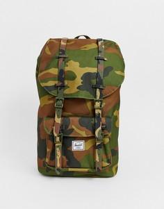 Рюкзак объемом 25 литров с камуфляжным принтом Herschel Supply Co Little America-Мульти