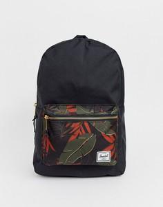 Рюкзак вместимостью 23 л и контрастным карманом Herschel Supply Co Settlement-Зеленый