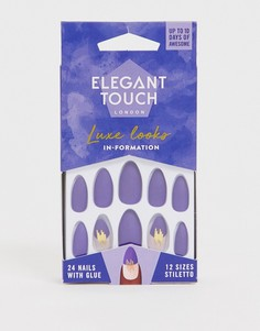 Накладные ногти Elegant Touch - Luxe (In Formation)-Синий