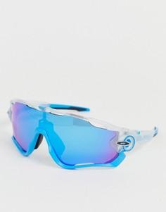Солнцезащитные очки со стеклами сапфирового цвета Oakley Jawbreaker Crystal Pop-Синий