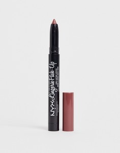 Матовая губная помада NYX Professional Makeup - Lip Lingerie (French Maid Brown)-Красный