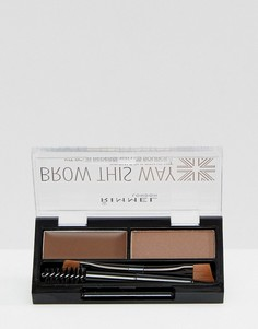 Набор для бровей Rimmel London Brow This Way-Коричневый