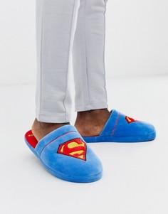 Слиперы с Суперменом Fizz-Синий
