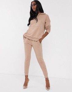 Светло-коричневые джоггеры скинни The Couture Club-Коричневый