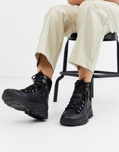 Черные походные кроссовки Selected Femme-Черный