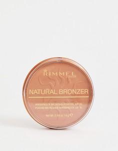 Пудра-бронзатор Rimmel Natural Sun glow-Коричневый