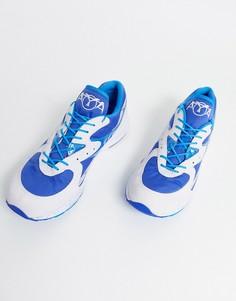 Синие кроссовки Saucony AYA OG-Синий