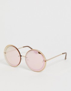 Круглые солнцезащитные очки ALDO-Золотой