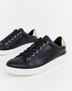 Кроссовки со шнуровкой Miss KG-Черный