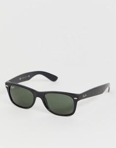 Солнцезащитные очки-вайфареры с оправой маленького размера Ray-Ban - 0RB2132-Черный