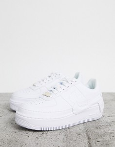 Белые кроссовки Nike - Air Force 1 Jester-Белый