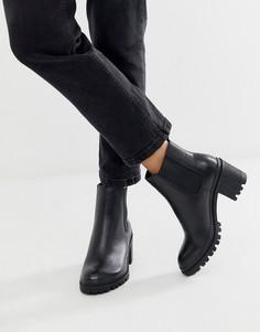Ботинки челси на среднем массивном каблуке ALDO Brerravia-Черный