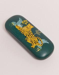 Чехол для очков с леопардовым принтом Sass & belle-Мульти