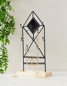 Черная подставка для украшений Sass & Belle-Мульти