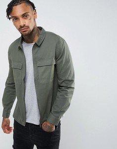 Куртка на молнии Another Influence-Зеленый