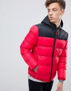Дутая куртка с капюшоном Tokyo Laundry-Красный