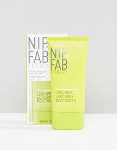 Увлажняющее матирующее средство для подростков NIP+FAB-Бесцветный