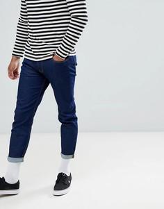 Темные укороченные джинсы Lee-Синий