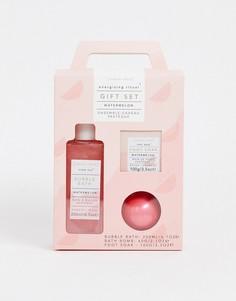Ванна для ног, пена и бомбочка для ванны с ароматом арбуза Sunday Rain - Energising-Бесцветный