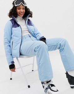 Синие лыжные брюки Roxy-Синий