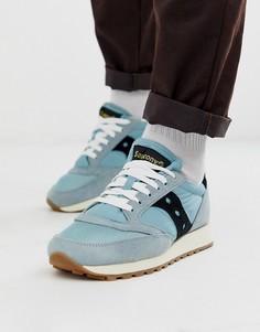 Синие кроссовки Saucony Jazz Original-Синий