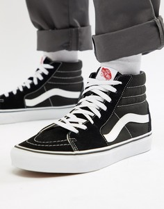 Черные высокие кроссовки Vans Sk8 VD5IB8C-Черный