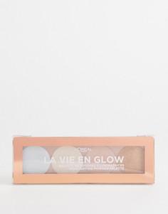 Палитра хайлайтеров LOreal Paris La Vie En Glow Cool Glow-Мульти LOreal