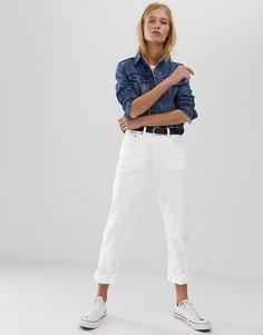 Укороченные джинсы Levis 501-Белый