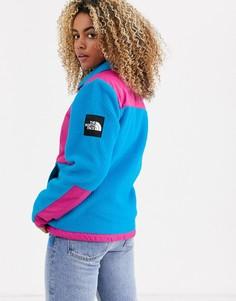 Сине-розовая флисовая куртка The North Face Denali-Розовый