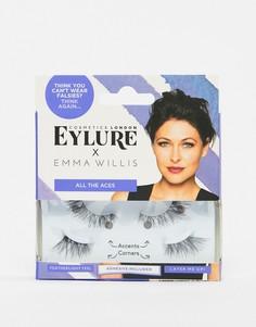 Накладные ресницы Eylure x Emma Willis All The Aces-Черный