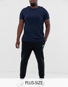 Черные джоггеры с логотипом Nike Plus Club Plus 804408-010-Черный