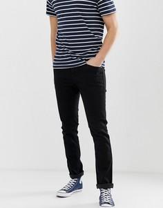 Черные джинсы скинни Bershka-Черный