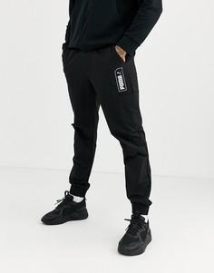 Черные джоггеры Puma Nu-Tility-Черный