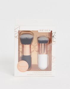 Набор из 2 кистей для макияжа Zoe Ayla-Мульти