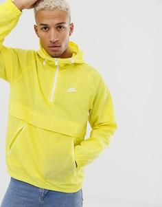 Желтая тканая куртка Nike-Желтый
