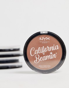 Бронзатор для лица и тела NYX Professional Makeup California Beamin - Free Spirit-Коричневый