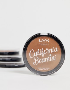 Бронзатор для лица и тела NYX Professional Makeup - California Beamin (The Golden One)-Коричневый