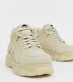 Эксклюзивные массивные кроссовки кремового цвета Buffalo - Colby-Кремовый