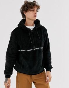 Черная куртка с молнией 1/4 Santa Cruz Arctos-Черный