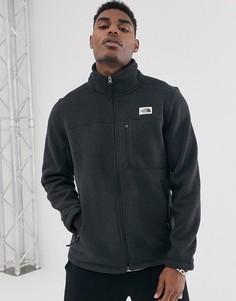 Черная флисовая куртка на молнии The North Face - Gordon Lyons-Черный