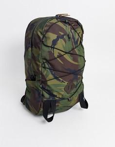 Рюкзак с камуфляжным принтом Polo Ralph Lauren-Зеленый