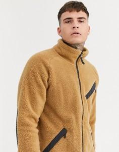 Бежевая флисовая куртка The North Face Cragmont-Коричневый