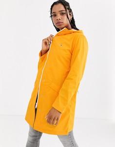 Желтый дождевик Tommy Jeans