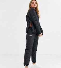 Стеганые спортивные штаны от комплекта Ellesse-Черный