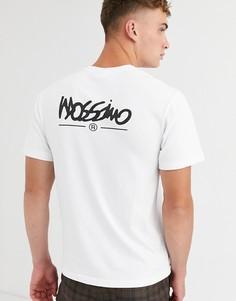 Белая футболка с логотипом Mossimo Classic-Белый