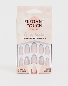 Накладные ногти Elegant Touch - Luxe (Champagne Campaign)-Розовый