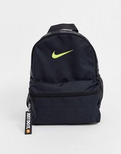 Черно-желтый рюкзак Nike Just Do It-Черный