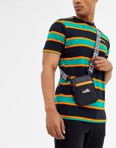 Черная миниатюрная сумка ellesse-Черный