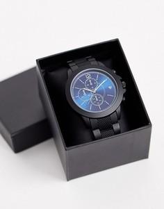 Черные мужские наручные часы Spirit-Черный